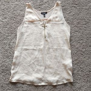 Express pale pink and gold tank